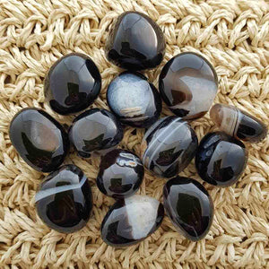 Black Agate Tumble (assorted)