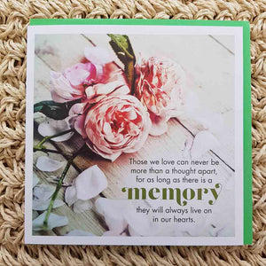 Those We Love Memory Card