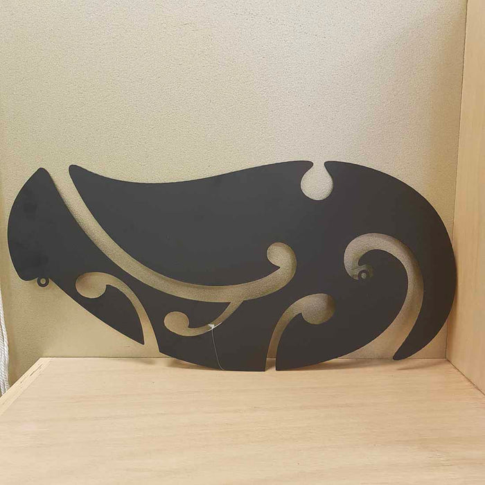 Hook Metal Wall Art. (approx. 23x49cm)