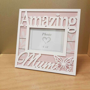 Amazing Mum Pink Photo Frame