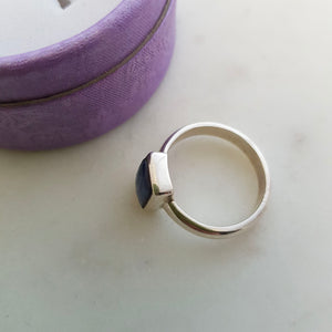 Iolite Ring (sterling silver)