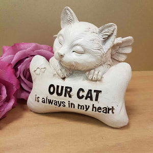 Our Cat is Always in My Heart Memorial