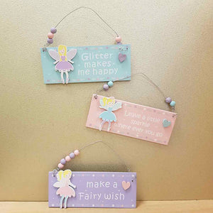 Sparkly Fairy Sign