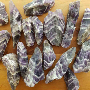 Chevron Amethyst Rough Point