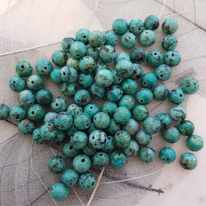 African Turquoise Bead