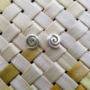 Koru Earrings (sterling silver)