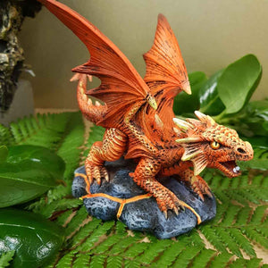 Baby Fire Dragon by Anne Stokes