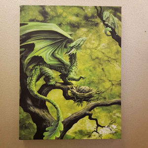 Forest Dragon Canvas