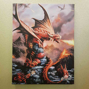Fire Dragon Canvas