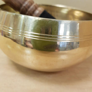 Singing Bowl with Om Symbol Inside