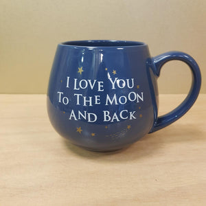 I Love You To The Moon And Back Ceramic Mug