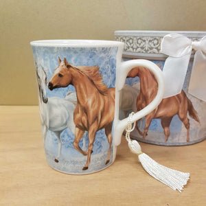 Horse Mug in Beautiful Gift Box
