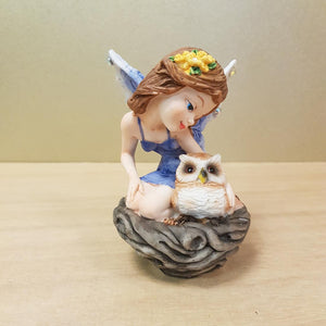 Fairy & Owl in Nest