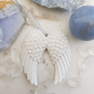 Angel Wings Hanging Ornament