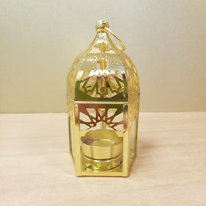 Gold Mini Lantern Moroccan Inspired