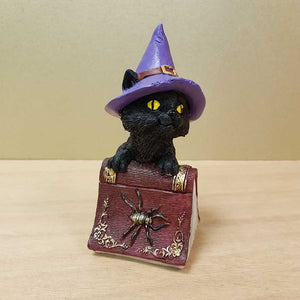 Black Cat on Spellbook