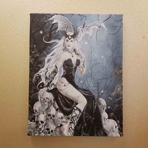 Mad Queen Canvas by Nene Thomas