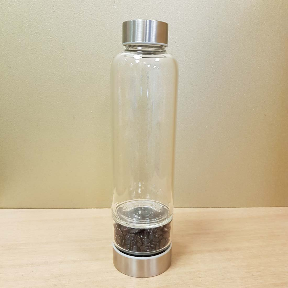 Mixed Crystal Chip Energy Water Bottle (approx. 500ml