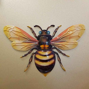 Colourful Bee Wall Art