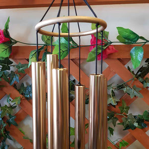 Rose Gold Natures Melody Aureole Chimes (70cm)