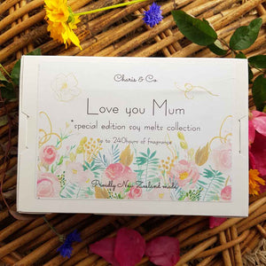 Love You Mum  Collection of Soy Melts