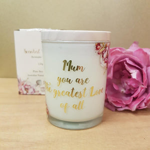 Scented Wishes Mum Aromatic Candle