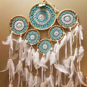 Blue Multi Ring Dream Catcher