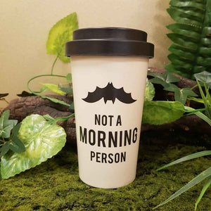 Not A Morning Person Eco Travel Mug (approx. 15x9cm)