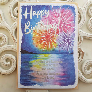 Happy Birthday Sending You Fantastic Wishes So That You Know Card