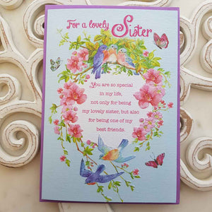 For A Lovely Sister You Are So Special In My Life Card
