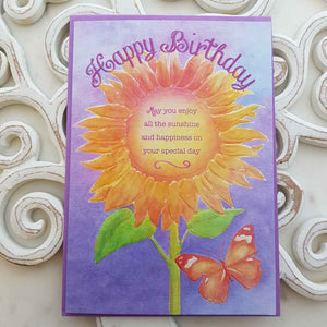 Happy Birthday May You Enjoy All The Sunshine And Happiness On Your Special Day Card