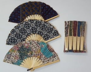 Colourful Folding Fan (assorted)