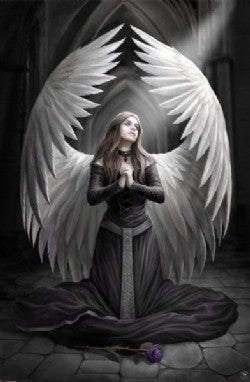 Prayer For The Fallen Canvas by Anne Stokes (approx. 50x70cm)