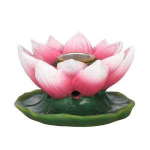 Pink Lotus Backflow Burner (approx. 8x4.5cm)