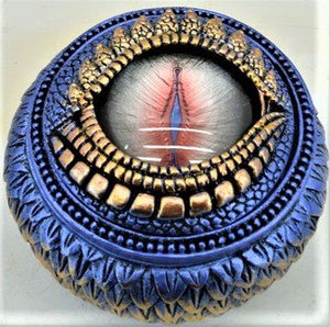 Blue Dragon Eye Trinket Box