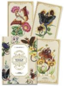 Enchanted Blossoms Oracle Cards (palm-sized dragons with butterfly wings)