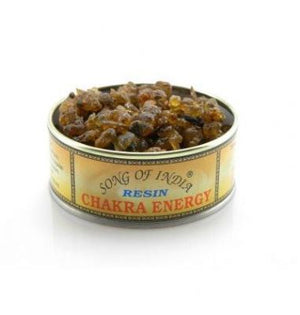 Chakra Energy Resin in a Tin (Song of India. approx. 60gr)