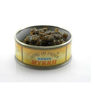 Myrrh Resin in a Tin (Song of India. approx. 60gr)