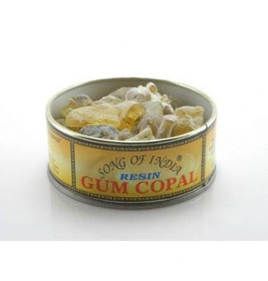 Gum Copal Resin in a Tin (Song of India. approx. 60gr)