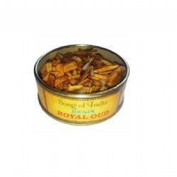 Royal Oud Resin in a Tin (Song of India. approx. 25gr)