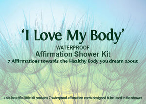I Love My Body Affirmation Shower Kit