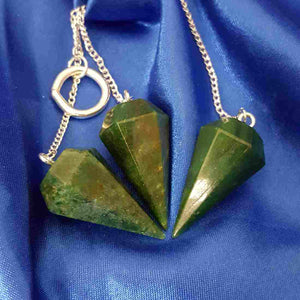 Fuschite Faceted Pendulum (assorted)