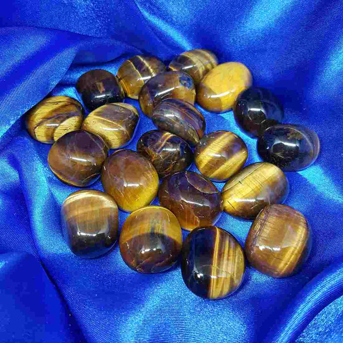 Gold Tigers Eye Tumble (assorted)