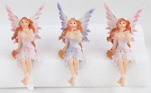 Fairy Shelf Sitter (approx. 5.5x11.2x6cm)