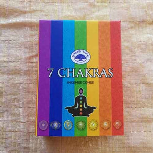 7 Chakras Incense Cones