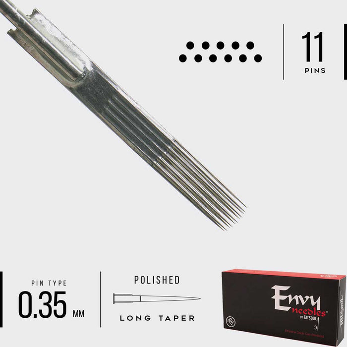 Envy Curved Mag Needles - Bloody Wolf Tattoo Supply