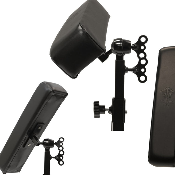 Deluxe InkBed Tattoo Ball and Socket Armrest Leg Rest - Bloody Wolf Tattoo Supply