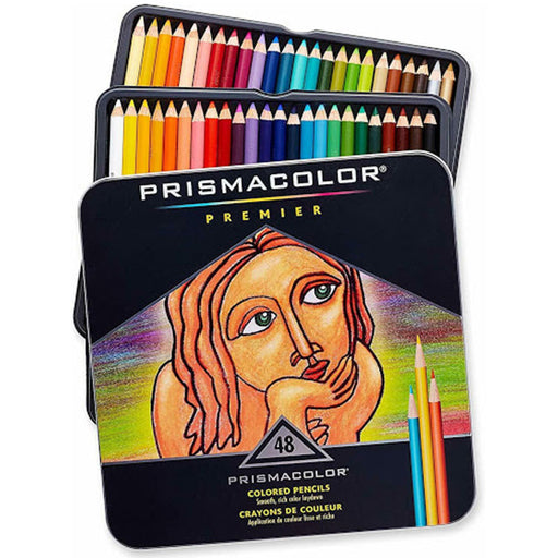 Prismacolor Pencils 48ct Set Soft Core - Bloody Wolf Tattoo Supply