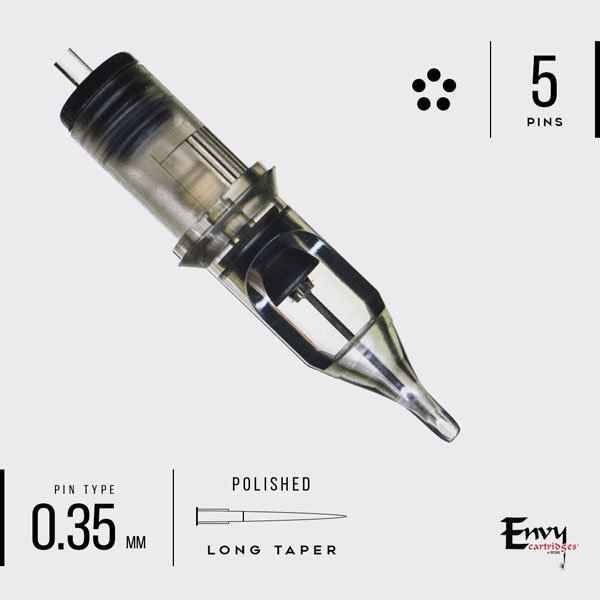 Envy Round Liner Cartridges - Bloody Wolf Tattoo Supply