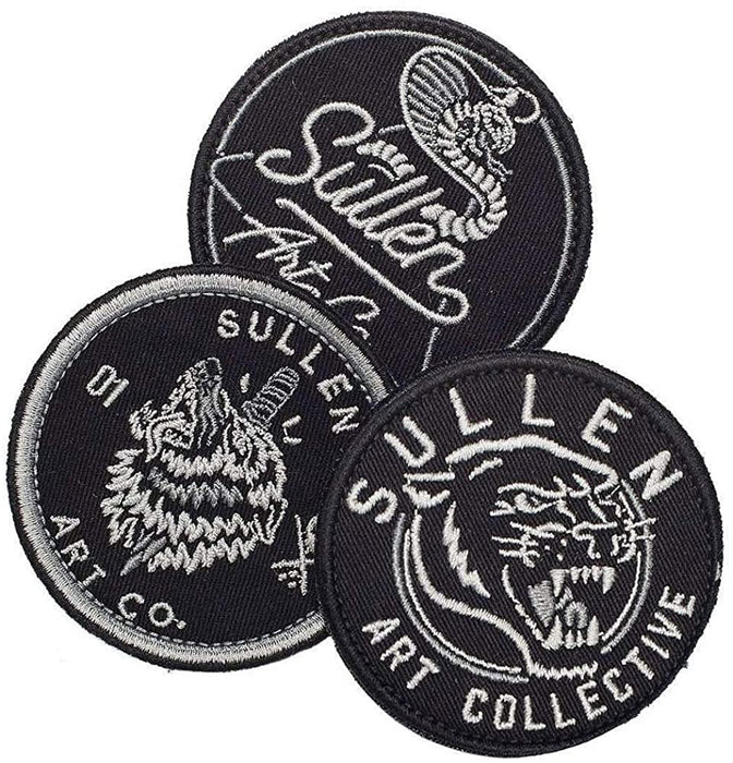 Sullen Patches - Bloody Wolf Tattoo Supply